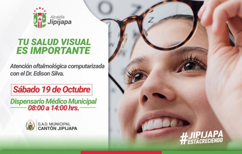 ¡TU SALUD VISUAL ES IMPORTANTE!