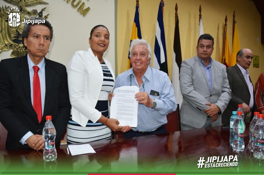 GAD Jipijapa y FET firman convenio de cooperación