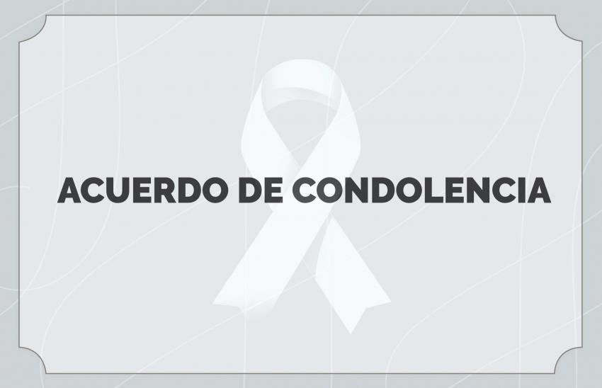 Acuerdo de condolencia